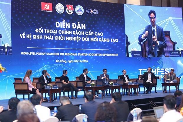 Dialogue de politique sur le developpement de l'ecosysteme de start-up regional hinh anh 1