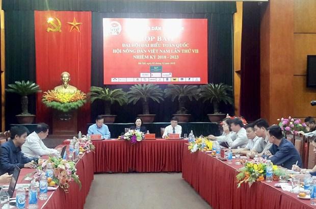 Bientot le 7e congres national de l'Association des paysans du Vietnam a Hanoi hinh anh 1