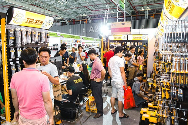 Ouverture de l'exposition internationale Vietnam Hardware & Hand Tools Expo 2018 hinh anh 2