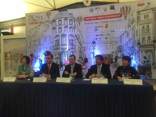 Bientot le festival de la cuisine francaise «Balade en France» a Hanoi hinh anh 2
