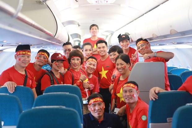 AFF Suzuki Cup : Vietnam Airlines augmente le nombre de vols entre HCM-V et Hanoi hinh anh 1