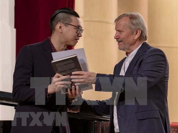 Un etudiant vietnamien remporte le prix au Festival russe de la musique hinh anh 1