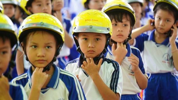 Gia Lai : atelier sur le projet «Casque de moto pour les enfants» hinh anh 1