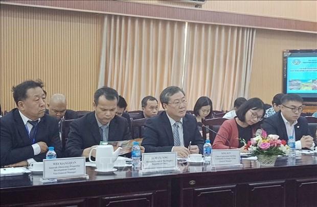 Pour commercialiser davantage des produits agricoles vietnamiens sur le marche chinois hinh anh 1