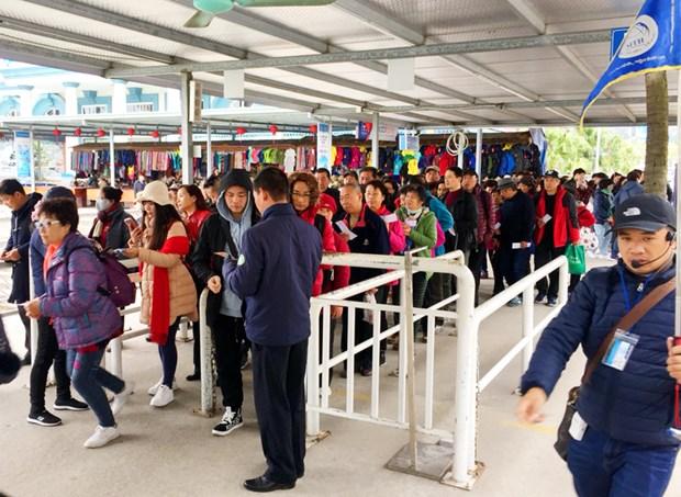 Nouvel An : Quang Ninh accueille 200.000 touristes pendant les jours feries hinh anh 1