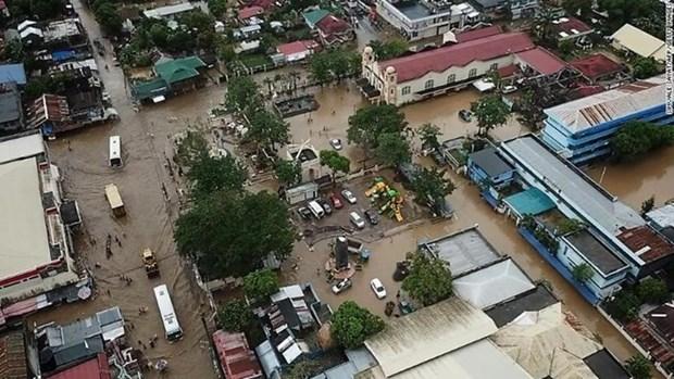 Messages de condoleances aux Philippines pour les pertes subies par la tempete Usman hinh anh 1