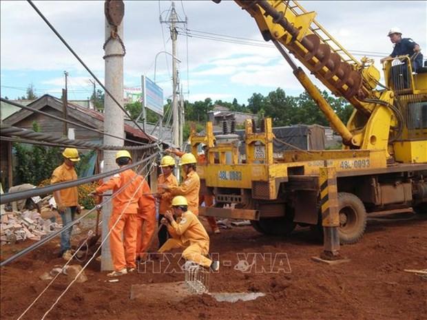 Dak Nong : Amelioration du reseau electrique a la province de Mondulkiri (Cambodge) hinh anh 1