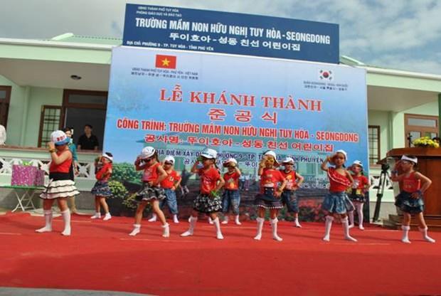 La ville de Tuy Hoa elargit sa cooperation avec l'arrondissement de Seongdong (R. de Coree) hinh anh 1