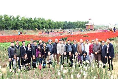 Le parc floral de Ho Tay, une destination prisee a Hanoi hinh anh 4