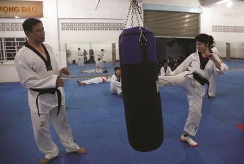 Une classe de taekwondo pas comme les autres hinh anh 1