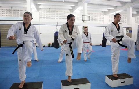 Une classe de taekwondo pas comme les autres hinh anh 2