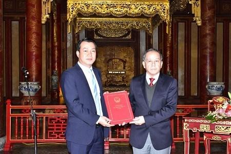 Thua Thien-Hue approuve un projet de construction automobile hinh anh 1