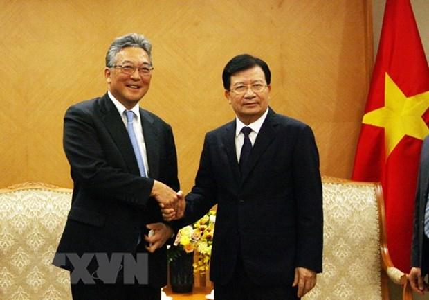 Pour promouvoir les activites du groupe japonais Marubeni au Vietnam hinh anh 1