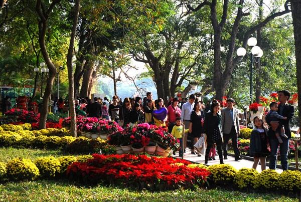 Hanoi : Augmentation du nombre de touristes durant le Tet traditionel hinh anh 1