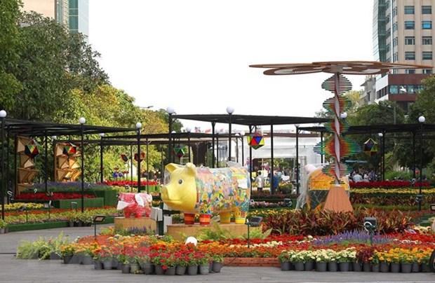 Ouverture de la rue florale Nguyen Hue 2019 a Ho Chi Minh-Ville hinh anh 1