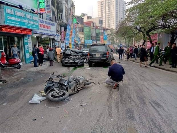 Tet : 96 morts dans des accidents de la circulation en cinq jours feries hinh anh 1