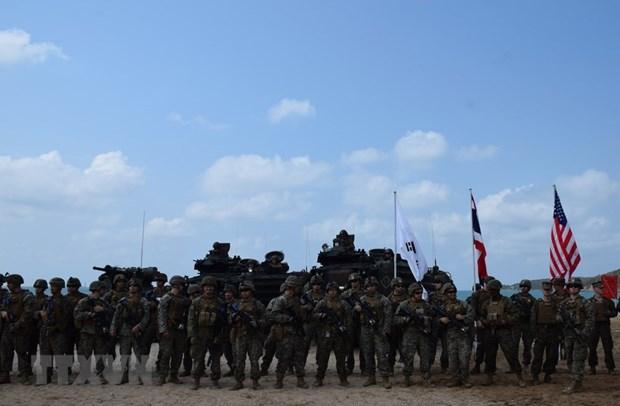 Thailande: Manœuvre de debarquement dans le cadre de l'exercice Cobra Gold hinh anh 1