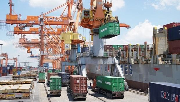 Plus d'un milliard de dollars d'import-export durant les jours feries du Tet du Cochon hinh anh 1