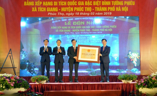 Maison communale de Tuong Phieu (Hanoi) reconnue site national special hinh anh 1