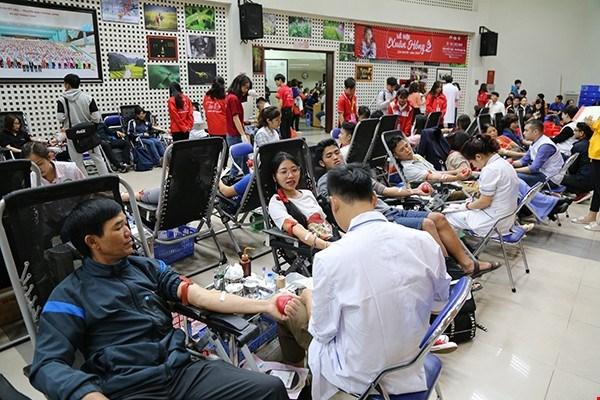Fete du printemps rouge : plus de 11.000 d'unites de sang collectees hinh anh 1