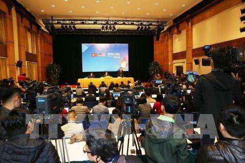Conference de presse internationale sur les preparatifs du 2e Sommet RPDC-Etats-Unis hinh anh 1