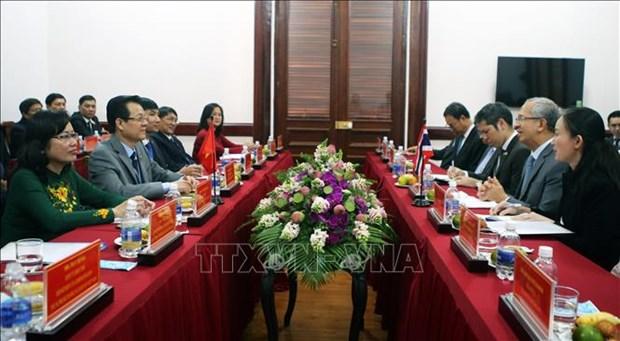 Vietnamiens et Thailandais partagent des experiences juridictionnelles hinh anh 1