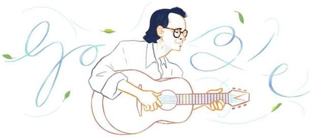 Le compositeur vietnamien Trinh Cong Son commemore par Google hinh anh 1