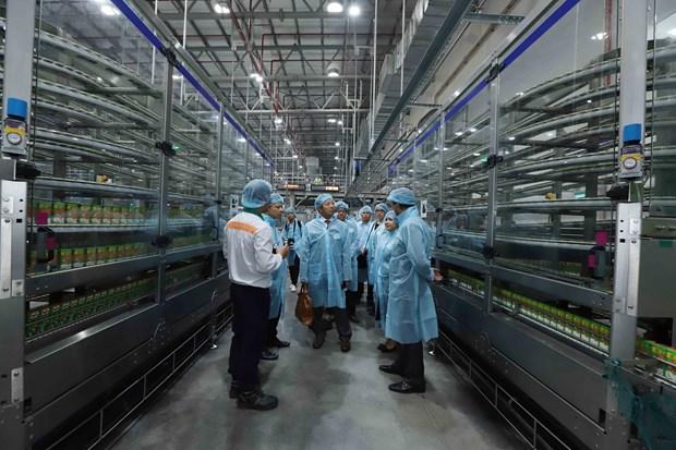 Nestle Vietnam inaugure un centre de distribution a Hung Yen hinh anh 2
