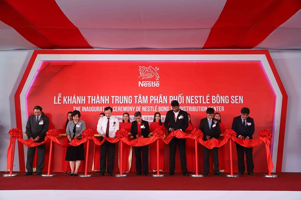 Nestle Vietnam inaugure un centre de distribution a Hung Yen hinh anh 1
