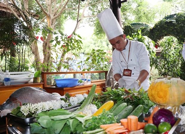 Un concours de cuisine des Hauts Plateaux du Centre organise a Dak Lak hinh anh 1