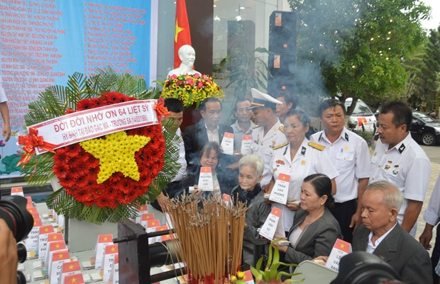 Da Nang : Hommage aux soldats tombes a Gac Ma hinh anh 2