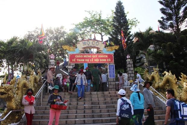 Ba Ria-Vung Tau : Le festival de Dinh Co accueille des dizaines de milliers de touristes hinh anh 1