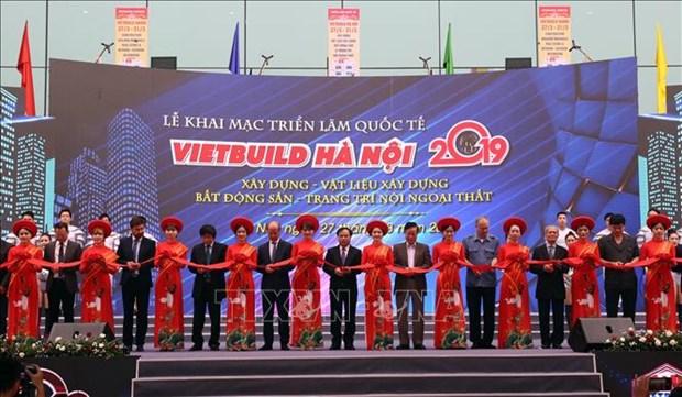 Ouverture de l'exposition Vietbuild Hanoi 2019 hinh anh 1