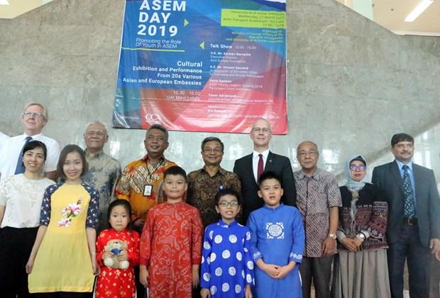 Le Vietnam participe a la Journee culturelle de l'ASEM 2019 en Indonesie hinh anh 1