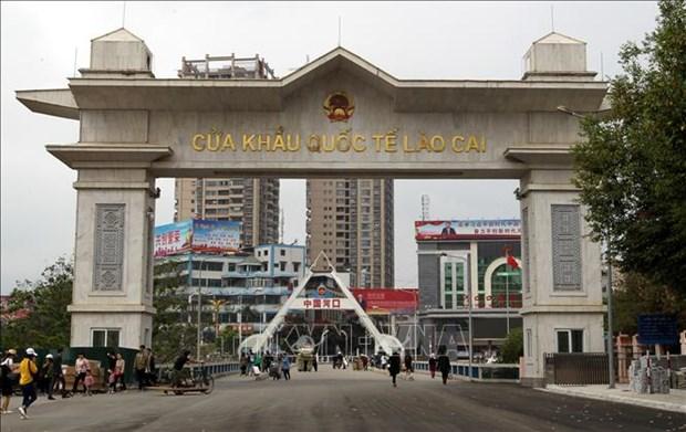 Les exportations via la porte frontaliere de Lao Cai en hausse au premier trimestre 2019 hinh anh 1