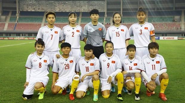 Premiere victoire du Vietnam au tournoi de qualification olympique feminin 2020 de l'AFC hinh anh 1