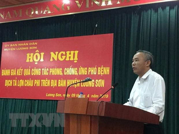 Hoa Binh declare la fin de la peste porcine africaine hinh anh 1