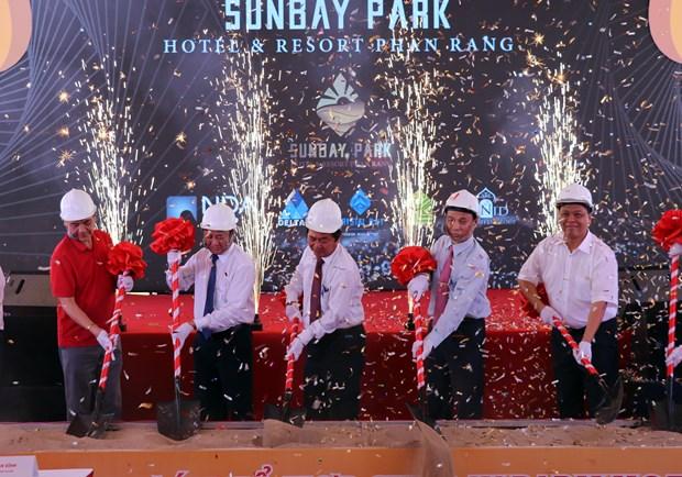Mise en chantier du plus grand complexe de villegiature et de loisirs de Ninh Thuan hinh anh 1