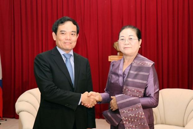 Nouvel An laotien : Ho Chi Minh-Ville adresse ses vœux au Consulat general du Laos hinh anh 2