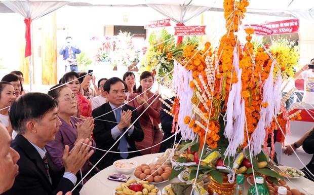 Nouvel An laotien : Ho Chi Minh-Ville adresse ses vœux au Consulat general du Laos hinh anh 1