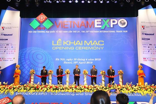 Ouverture de la foire Vietnam Expo 2019 a Hanoi hinh anh 1