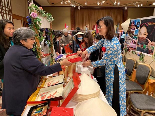 Le Vietnam participe a la 43e foire caritative de l'Association des femmes de l'Asie-Pacifique hinh anh 1
