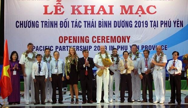 Lancement du programme de Partenariat du Pacifique 2019 a Phu Yen hinh anh 1
