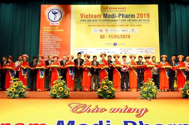 Ouverture de la 26e edition du salon Vietnam Medi-Pharm 2019 a Hanoi hinh anh 1