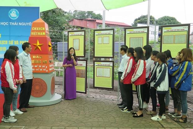 Exposition sur les archipels de Hoang Sa et Truong Sa a Thai Nguyen hinh anh 1