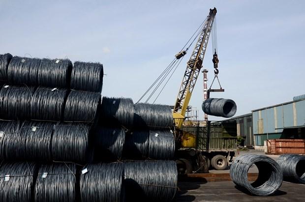 Hoa Phat exporte du fil machine en acier vers la Malaisie hinh anh 1