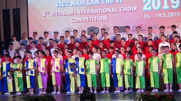 Ouverture du 6e Concours international de chant choral a Hoi An hinh anh 1