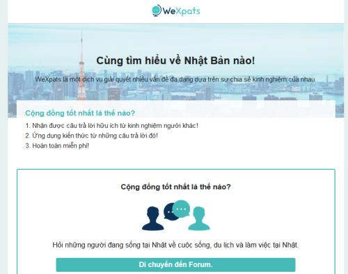 Lancement d'un site web pour les Vietnamiens au Japon hinh anh 1