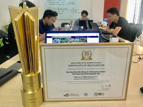 Une startup vietnamienne primee au Sommet mondial sur la societe de l'information hinh anh 1