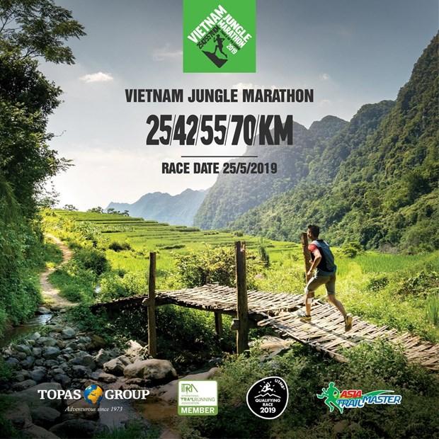 Le Vietnam Jungle Marathon 2019 a Pu Luong (Thanh Hoa) hinh anh 1